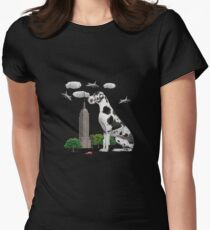 Great Dane Womens Fitted T-Shirt