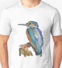 Stylised Pen & Ink Kingfisher T-Shirt