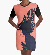 Windy day Graphic T-Shirt Dress
