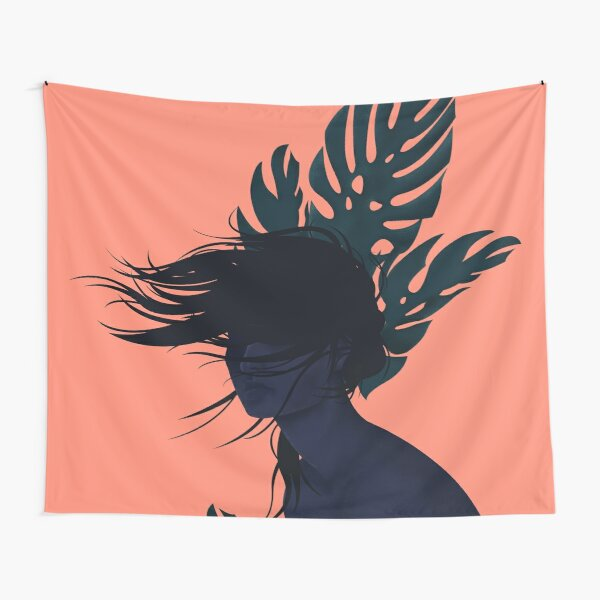 Windy day Tapestry