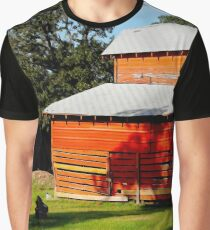 Shade at the Old Red Barn Graphic T-Shirt