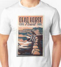 Vintage Travel Poster – Dead Horse Point State Park Unisex T-Shirt