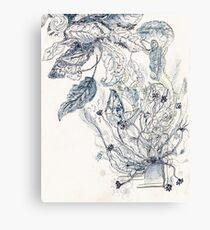 Mayan Flowers/ Flores Mayas Canvas Print