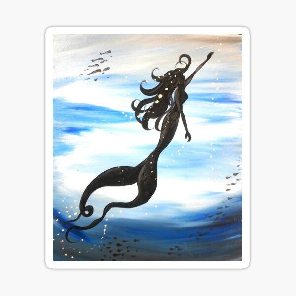 Mermaid Under the Sea Sticker