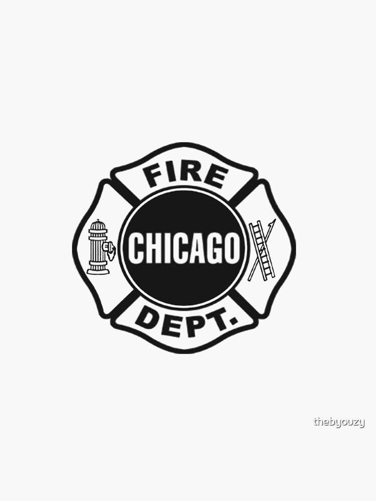 Chicago Fire Dept Black Logo Tote Bag By Thebyouzy Redbubble