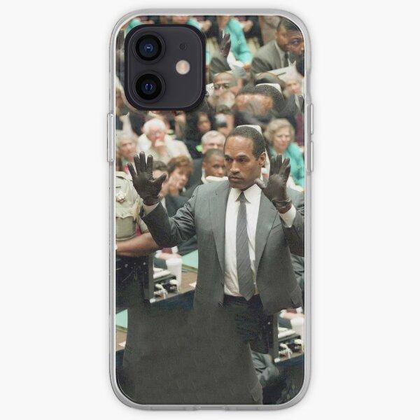 Gants Simples OJ Coque souple iPhone