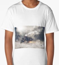 Winter Cabin Long T-Shirt