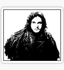 Jon Snow - Game of Thrones Sticker