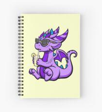 Lemonade Dragon Spiral Notebook