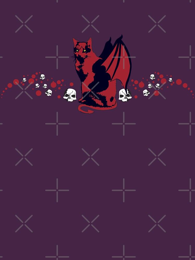 Devil Cat by FredzArt
