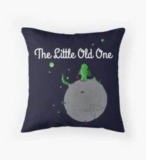 The Little Old One Throw Pillow