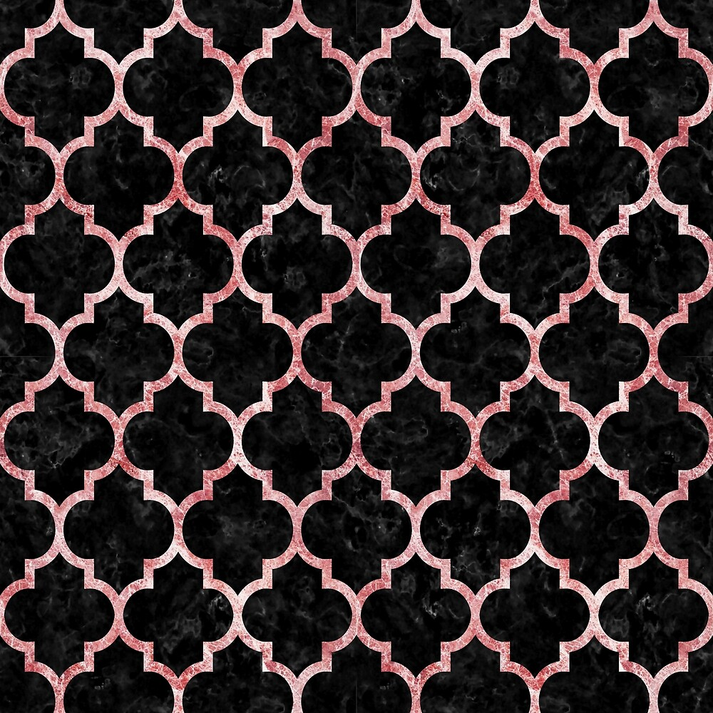 TILE1 BLACK MARBLE AND RED AND WHITE MARBLE by johnhunternance