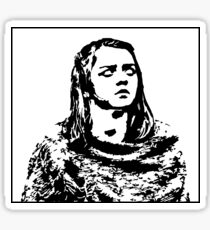 Blind Arya Stark - Game of Thrones Sticker