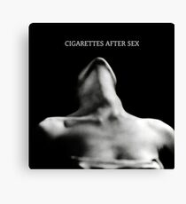 cigarettes after sex  Canvas Print