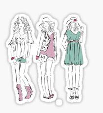 Fashion Girls Sticker