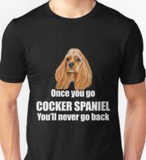 Cocker Spaniel Dog Design  T-Shirt