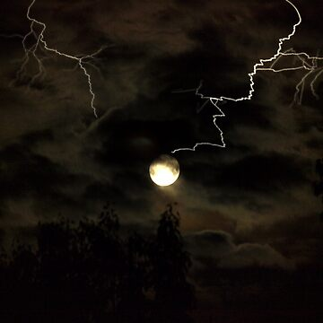 Full Moon Storm by jknight401