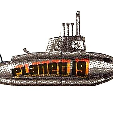 The Planet 19 Submarine by cainjohnson