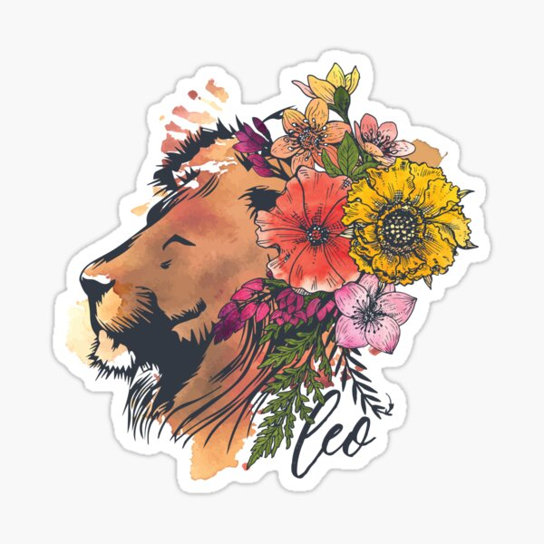 Leo Lion Sticker