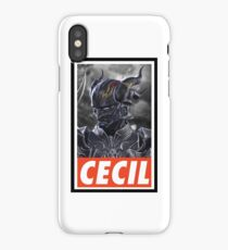 -FINAL FANTASY- Dark Cecil iPhone Case/Skin