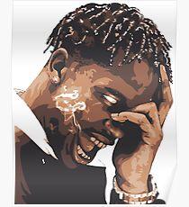 la flame travis rap Poster