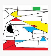 AM Deconstructing Cesar Manrique  - a conceptual homage Photographic Print