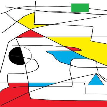 AM Deconstructing Cesar Manrique  - a conceptual homage by TonyBroadbent