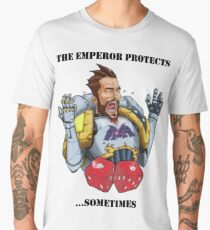 Emperor's Path - The Emperor Protects Men's Premium T-Shirt