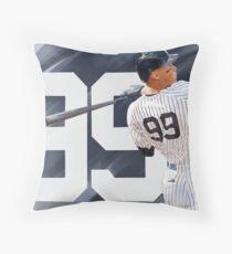 Aaron Judge Throw Pillow