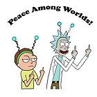 Rick and Morty-- Peace Among Worlds by lovecooks