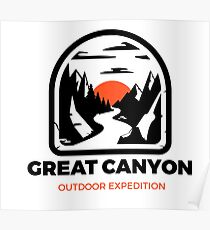 Great Canyon Poster