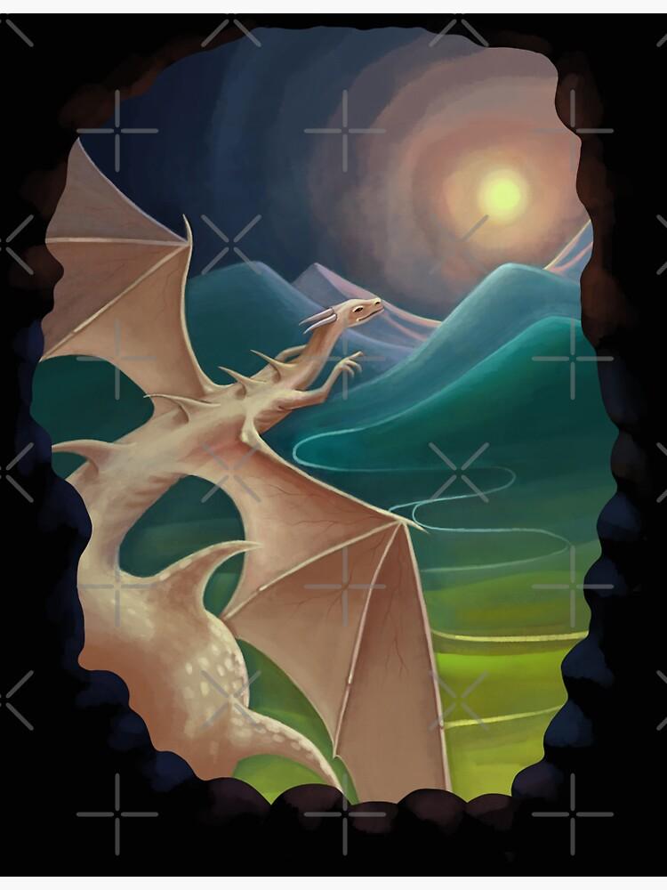 The dragon by Elenanaylor