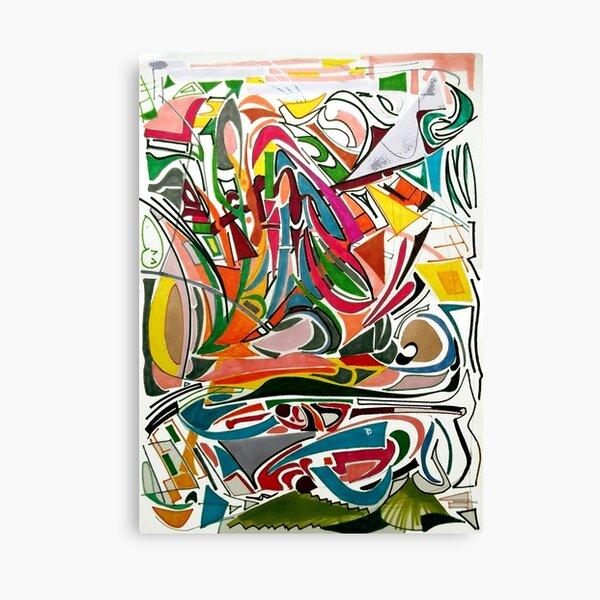 Cesar Manrique Moments 2 Canvas Print