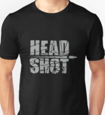 Headshot Gray T-Shirt