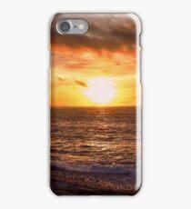Aberystwyth Sunset - Wales - UK iPhone Case/Skin