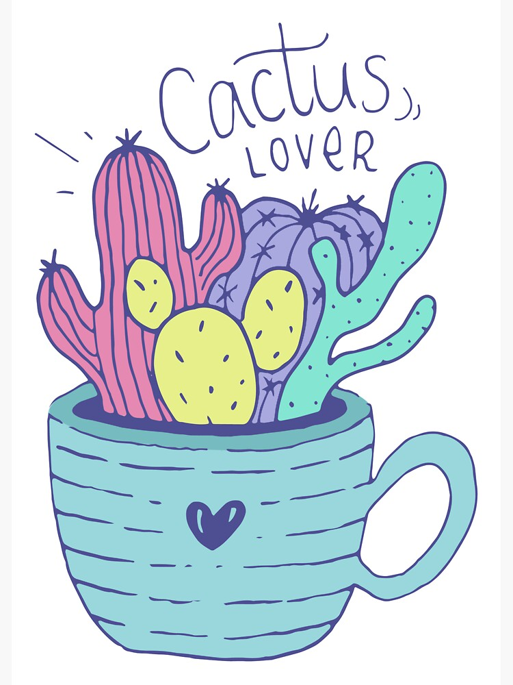 Cactus Lover - Home sweet home by mirunasfia