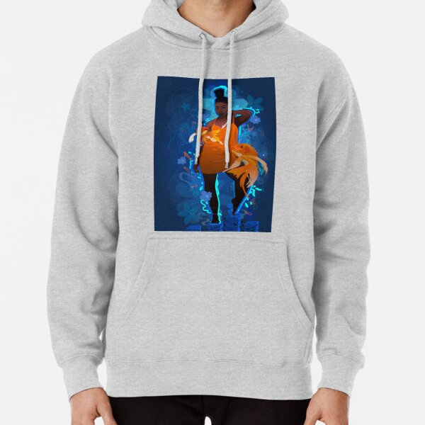 Golden Blues Pullover Hoodie