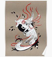 Okami Amaterasu BÄNDER Poster