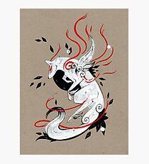 Okami Amaterasu RIBBONS Photographic Print