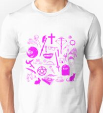Buffy Symbology - Pink T-Shirt