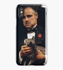 THE GODFATHER / DON CAT LEONE iPhone Case/Skin