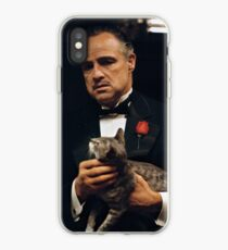 THE GODFATHER / DON CAT LEONE iPhone Case