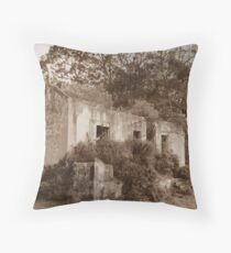 Vintage-Ruins-by-DotingOnCrafts Throw Pillow