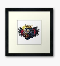 The notorious tattoo Framed Print