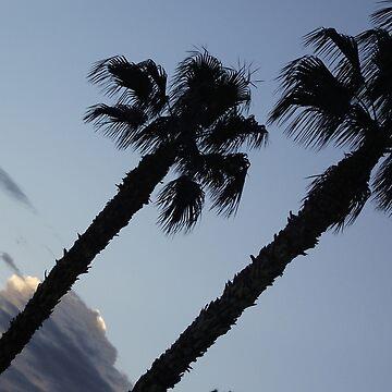 Vegas Palms by TinaCruzArt1