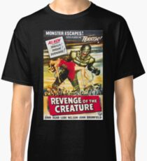 Revenge of the Creature - vintage horror movie poster, 1955 Classic T-Shirt