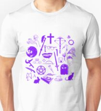 Buffy Symbology - Purple T-Shirt