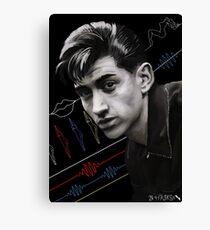Alex Turner of the Acrtic Monkeys Canvas Print