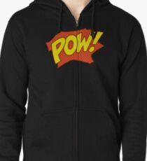 POW! Zipped Hoodie