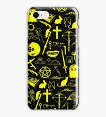 Buffy Symbology - Yellow iPhone Case/Skin